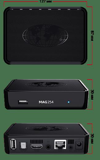 MAG 254 technical characteristics