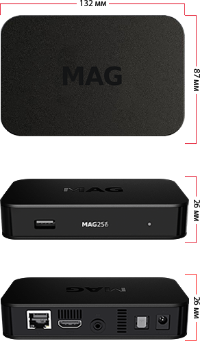 MAG256/MAG257 description, specifications, modifications | STBs for