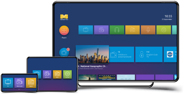 Ministra multiscreen TV platform for IPTV|OTT|VoD business (formerly