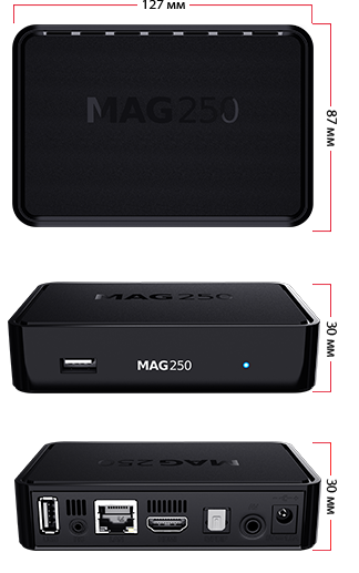 MAG250 description, specifications | Discontinued STBs for