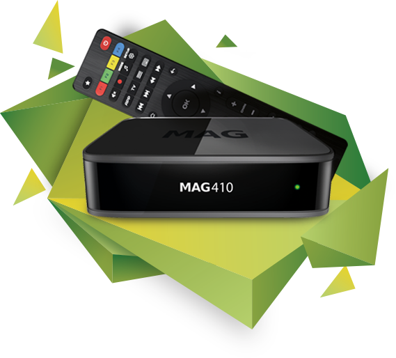 MAG410 description, specifications | STBs for business from Infomir