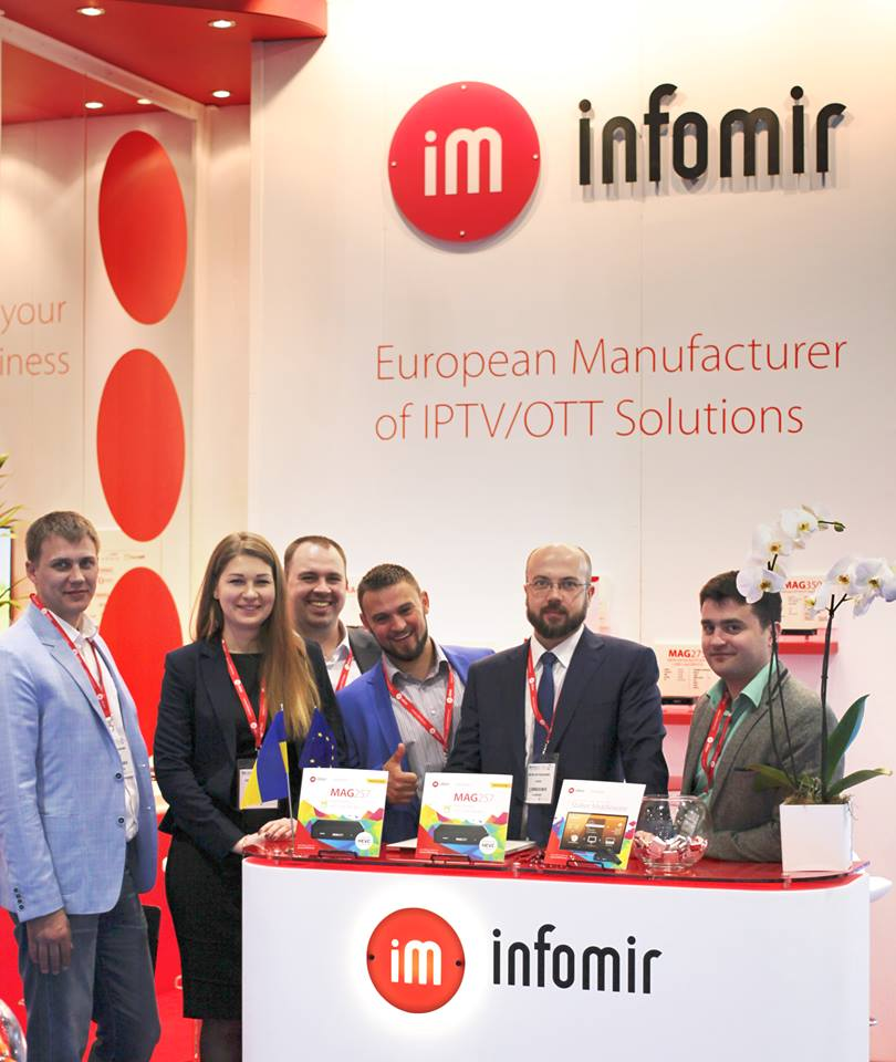 Infomir MAGie in der TV Connect 2015