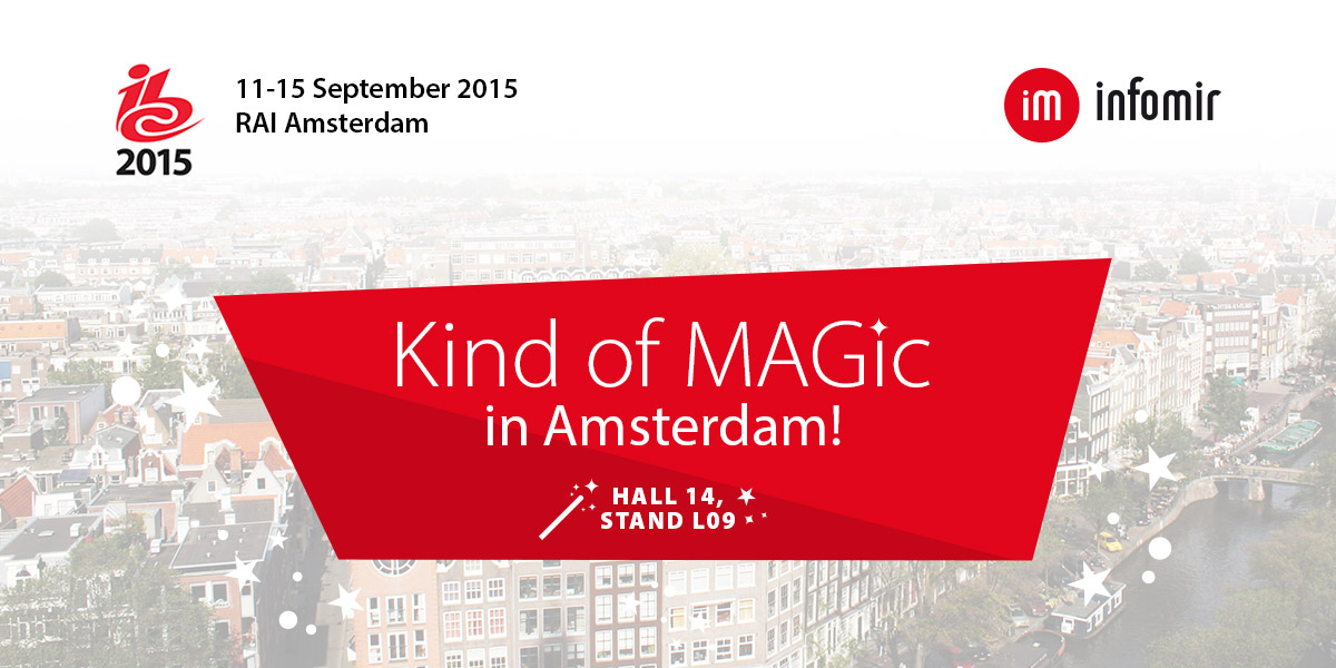 More MAGic by Infomir: now in Amsterdam!