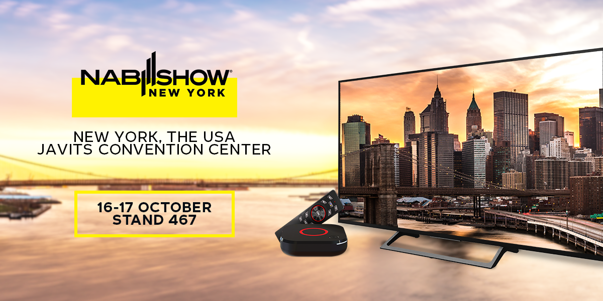 Meet Infomir at NAB Show New York 2019