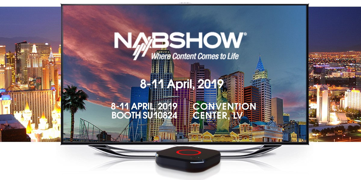 Meet Infomir at NAB Show Las Vegas 2019