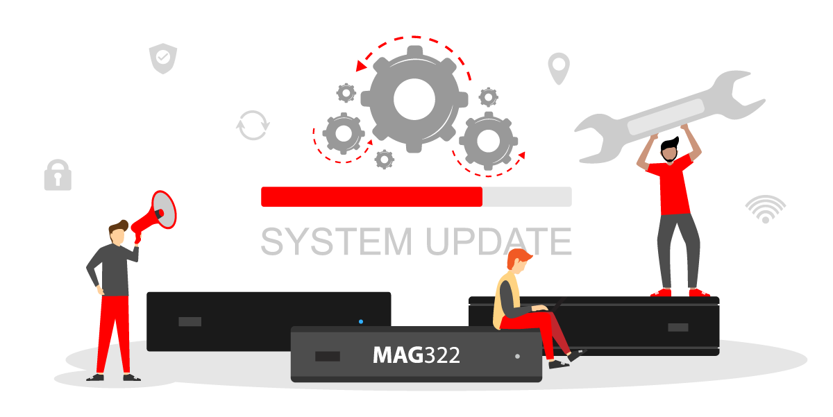 MAG322 and MAG324 firmware update