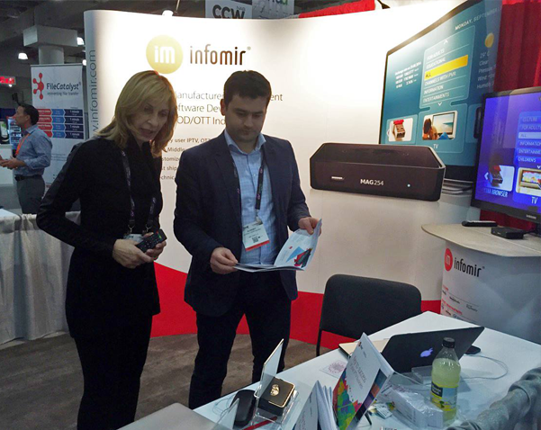 Half world in two weeks: Infomir participated in exhibitions in USA and UAE