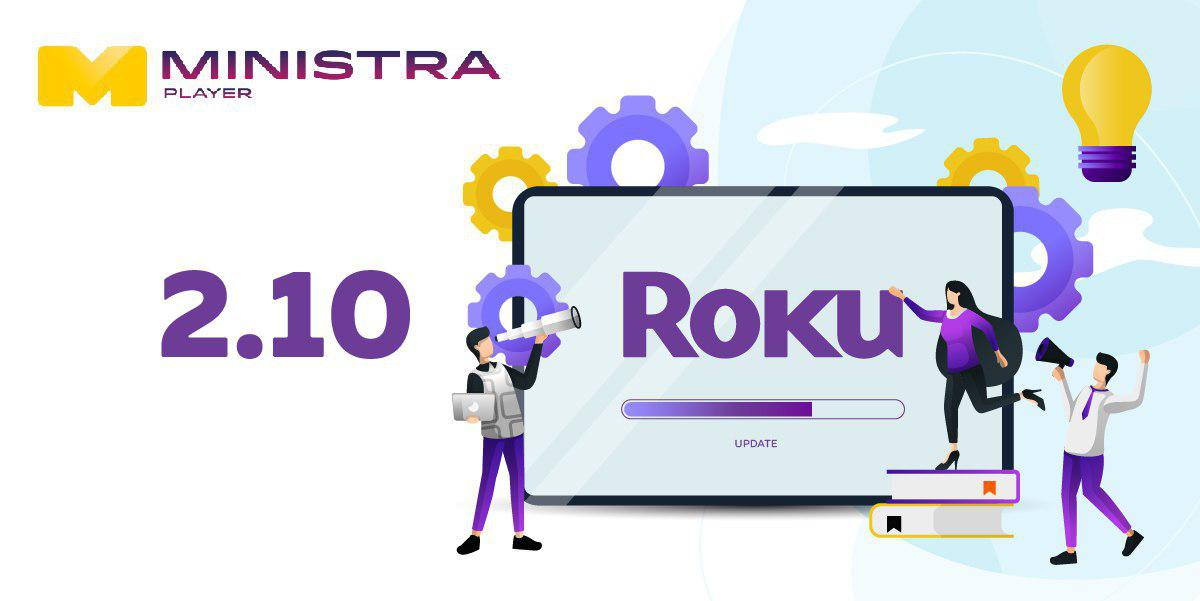 Nouvelle version de Ministra Player pour Roku