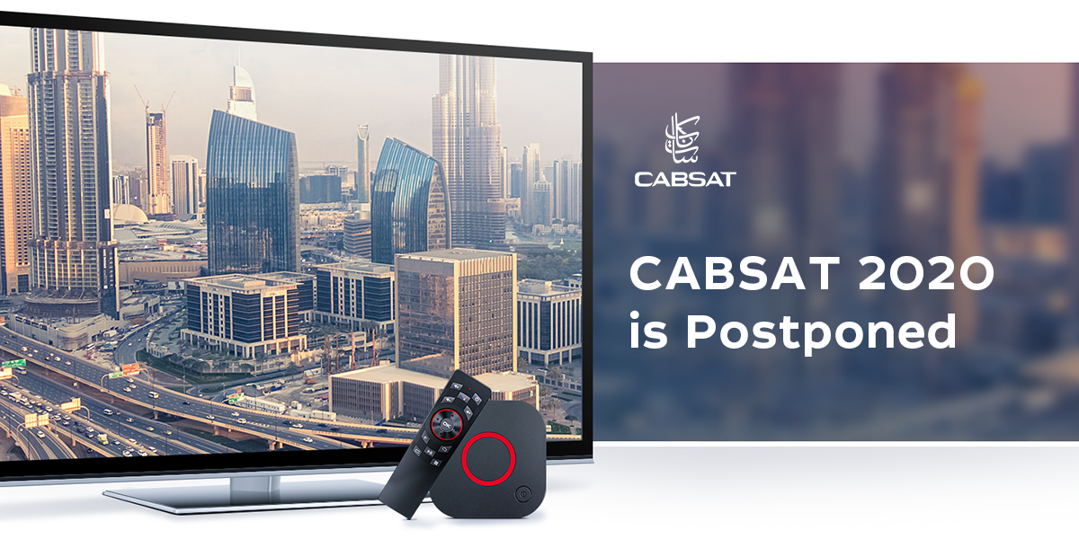 CABSAT 2020 will be held in October