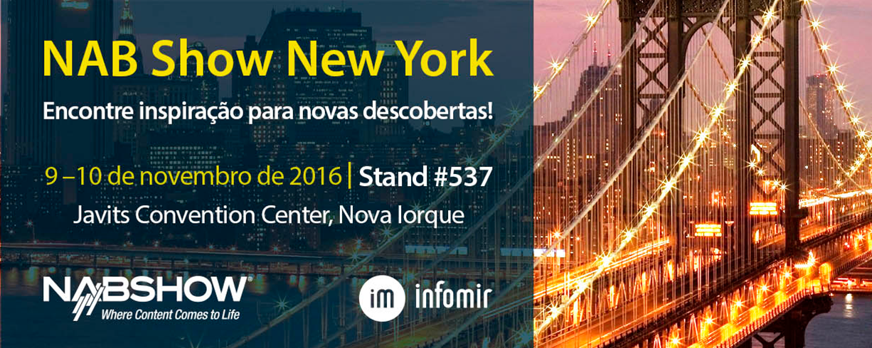 NAB Show New York 2016