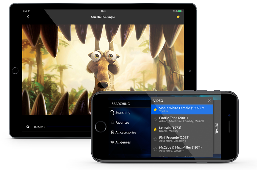 Infomir introduced a new version of StalkerTV for iOS